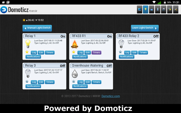 Working PHP file for add message to Domoticz LOG
