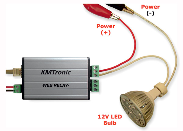 Ethernet Switching With KMtronic Relay switch