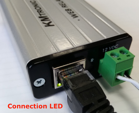 Connection LED