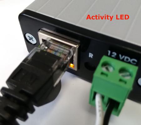 Activity LED
