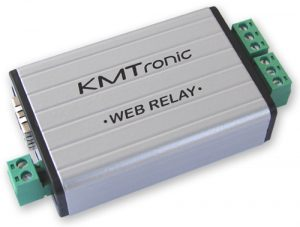 KMtronic WEB LAN Two channels Relay Ethernet IP Controller - BOX