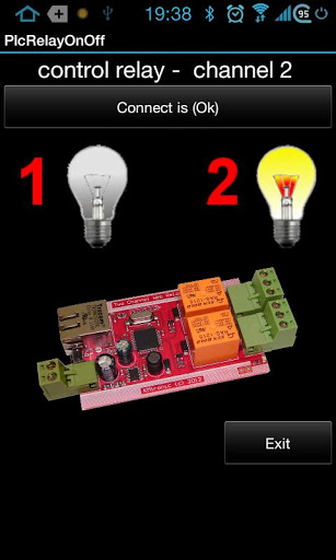 Smartphone Controlled Relay board with IP control
