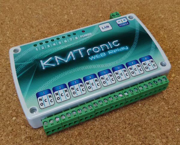 Ethernet Controlled Relay board / Ethernet Controlled Relay switch