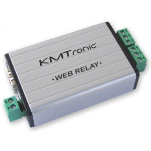KMTronic WEB LAN Ethernet IP 2 channels Relay board BOX