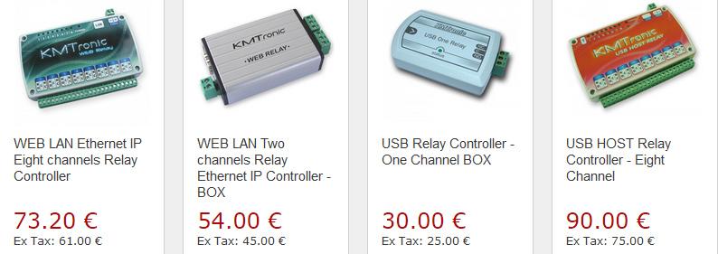 KMtronic LAN WEB 8 Channel Relay board