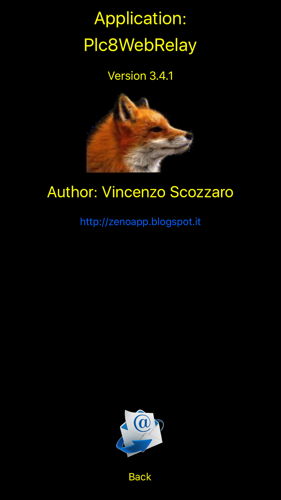 Vincenzo Scozzaro Plc 8 Relay On Off for iPhone and iPad Version (3.4) is Approved for control KMtronic WEB Relays