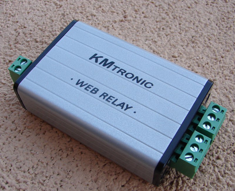 Some Photos My Home Automation Parts – KMtronic and Domoticz