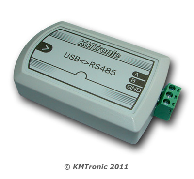 KMtronic USB to RS485 FTDI Interface Converter - BOX