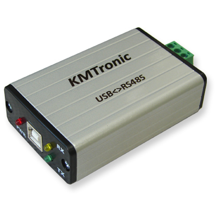 KMtronic Opto Isolated USB to RS485 FTDI Interface Converter - BOX