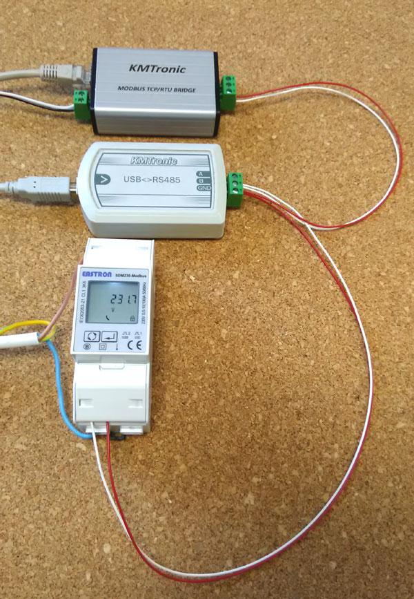 Python Read Sdm230 Modbus Single Phase Energy Meter With