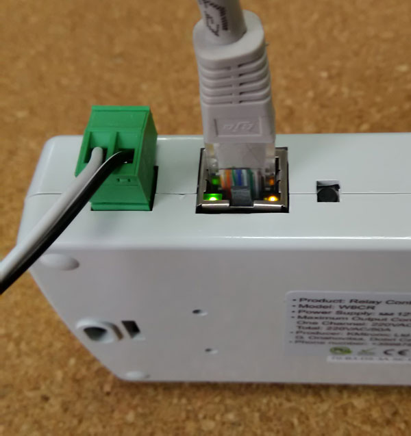 Internet der Dinge: Domoticz und KMTronic LAN 8-fach Netzwerk Relais Carte (Internet Ethernet WEB relaisplatine)