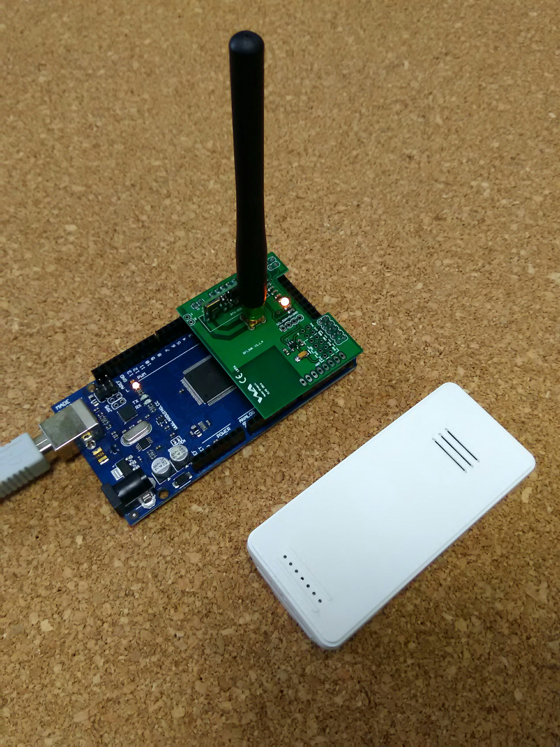 Wireless outdoor Weather station to Domoticz / RF-LINK
