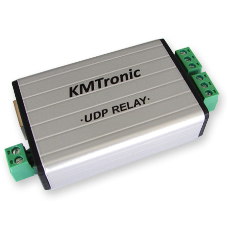 KMtronic UDP LAN Ethernet IP 2 channels Relay Controller