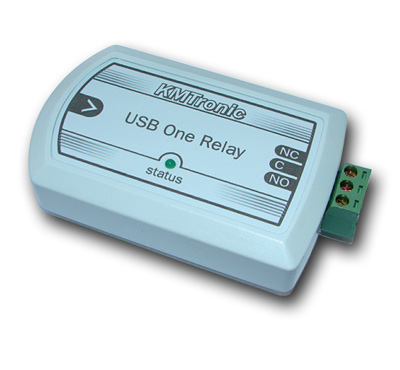 KMtronic USB Relay Controller - One Channel - BOX