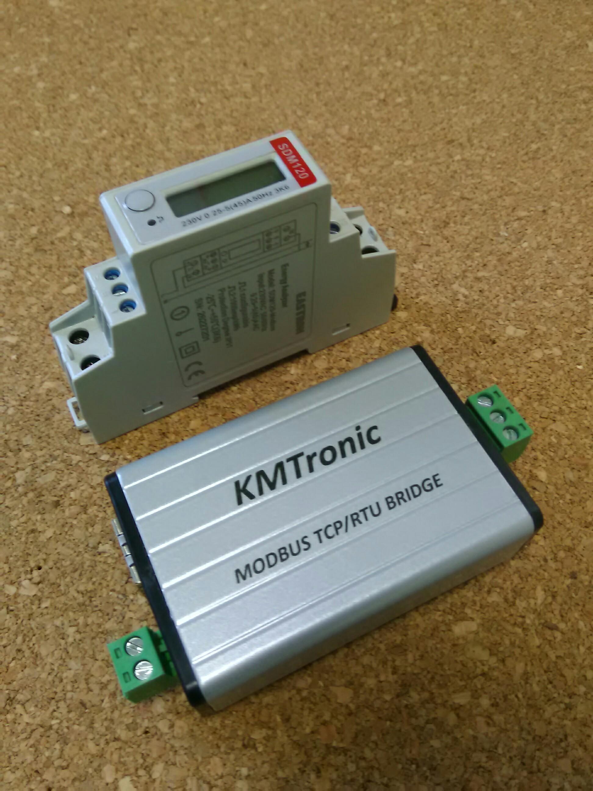Modbus RS485 RTU Serial to Modbus LAN TCP/IP Module Converter