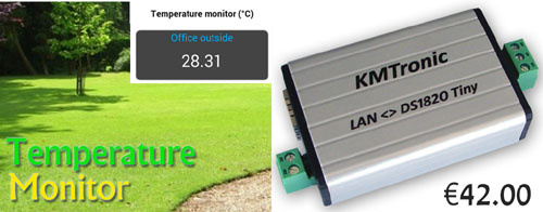 Working file for KMtronic ModBus Temperature Monitor