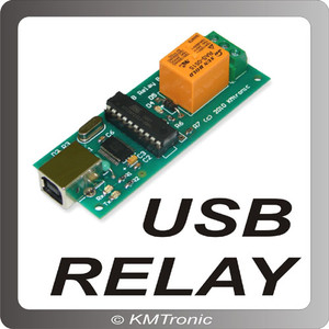 Controller USB Relay 1 channel Monocanale KMtronic