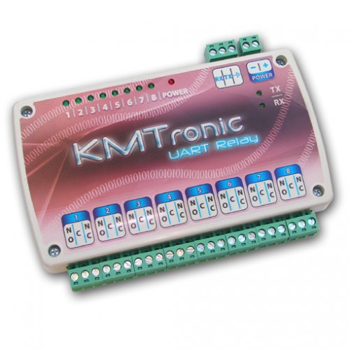 KMtronic UART Relay Controller Eight Channel