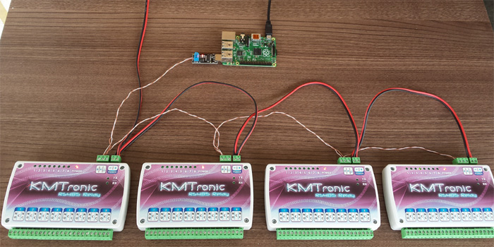 AVSforum: Software for a DIY Home Automation based off of relays for my new home theater KMtronic
