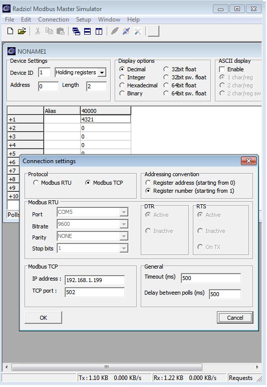 KMtronic Modbus LAN TCP/IP to Modbus RS485 RTU Serial Converter