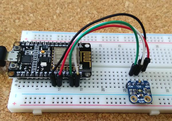 ESP8266: Adafruit VEML6070 I2C Test